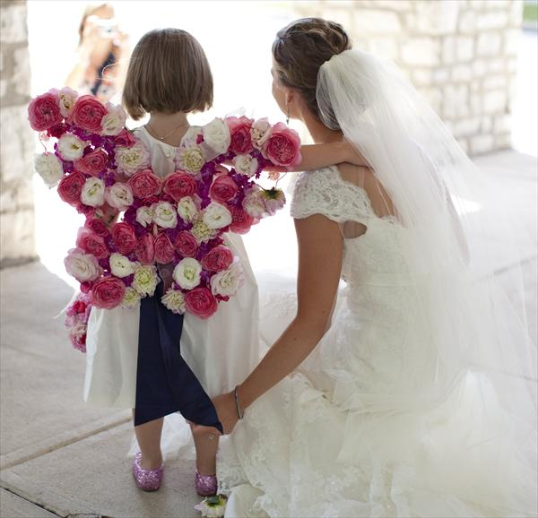 Fresh Ideas: Flower girl | blooms and bouquets